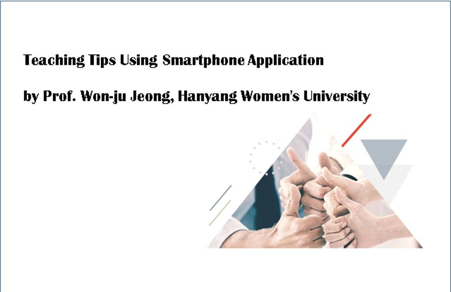 Teaching Tips Using Smartphone Application